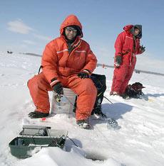 Чемпионат Канады по ловле рыбы со льда 2006 года.