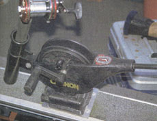 Для настройки держателей для фиксации удилищ в даунриггере Cannon необходимы специальные инструменты.