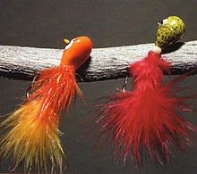 Перьевой джиг - для ручьевой форели