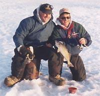 Три способа экипировки для подледной рыбалки