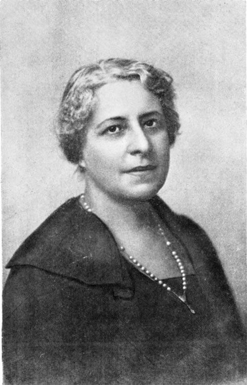 Надежда Александровна Смирнова, один из руководителей ТеософическогоОбщества в Москве. Артистка Малого Театра