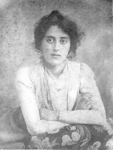Лидия Марьяновна Тумловская (Арманд). 1900 г