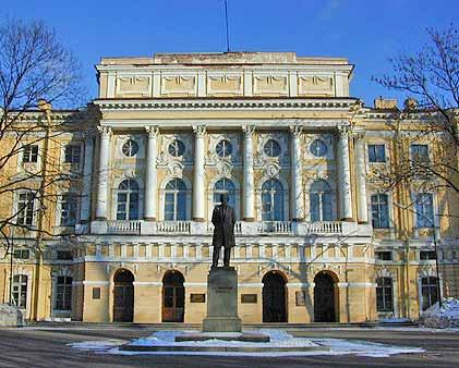 Дворец Разумовского (Государственный педагогический институт имени А.И.Герцена)
